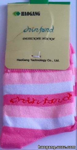haogang детские носки с турмалином