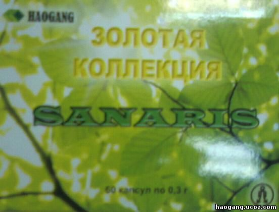Антипаразитарный фитокомплекс Sanaris